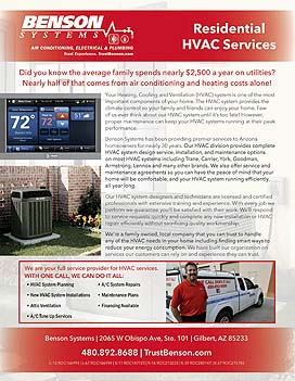 Residential HVAC Information